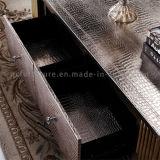 Tavolino da salotto del MDF di rettangolo con la mobilia dell'hotel della Tabella di blocco per grafici dell'acciaio inossidabile
