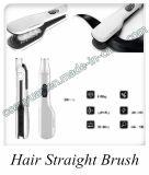 Cepillo de cerámica de la enderezadora del pelo del vapor del cuidado de pelo