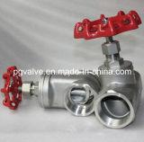 Шариковый клапан BSPT Pn16 женский Wcb 2PC с Ce и ISO9001