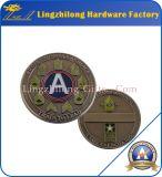 旧式なアメリカのレプリカの古い硬貨