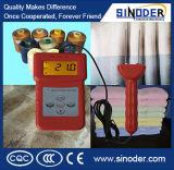 Analyseur d'humidité de textile, mètre d'humidité pour des laines, mètre en soie d'humidité