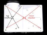 Projecteur du théâtre à la maison DEL d'affichage à cristaux liquides de multimédia de la qualité 3D Pico HDMI
