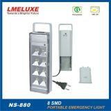 Iluminación recargable de la emergencia LED