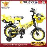 Grünes rotes gelbes goldenes schwarzes Kind-Fahrrad/Kind-Fahrrad