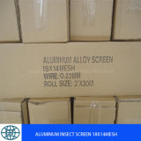 AluminiumWindow Screen 18X14mesh/Anti Mosquito Screen