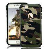 iPhone 6のためのカムフラージュの軍隊の電話アクセサリの箱
