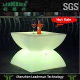 Tabela de chá da tabela da barra da mobília do diodo emissor de luz