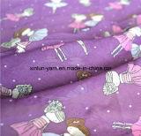 Чисто ткань Crepe Crinkle ткани Georgettedyed двойная шифоновая