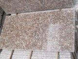 Azulejo Polished barato rojo del granito del melocotón G687 con alta calidad