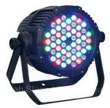 54PCS*1/3W maak IP65 het Licht van het LEIDENE RGBW Stadium van het PARI waterdicht