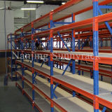 Shelving resistente de Longspan do armazenamento do armazém industrial
