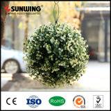 Bolas más baratas del Topiary de la flor artificial de la belleza de las decoraciones del jardín