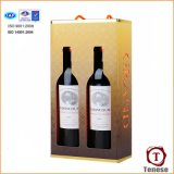 Wine portatif Cardboard Box avec Handle