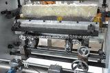 Máquina de laminação a seco de alta velocidade de controle PLC com cola