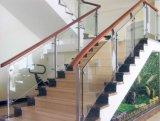Steel inoxidável Glass Shelf Bracket para Handrail (CR-328)