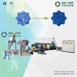 Estirador de solo tornillo y máquina de dos etapas de la granulación