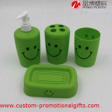 Stanza da bagno Product Plastic 4PCS Smile Face Bathroom Accessory