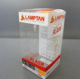 Boîte-cadeau respectueuse de l'environnement de PVC de Clear Printing (cadre pliable)