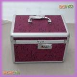 Pinkfarbener Druckoberfläche-kleiner Aluminiumverfassungs-Eitelkeits-Kasten (SACMC146)