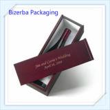 Boîtes-cadeau décoratives en verre de vin de papier de carton