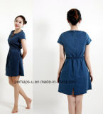 Hot Sale High-End Vestido feminino Denim