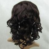 """28 """" la peluca llena del cordón del pelo 150% de Non-Remy suelta la onda"""