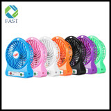 Bester Geschenk-nachladbarer mini elektrischer Handgroßhandelsventilator beweglicher USB-Handventilator