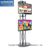 Basamento alto del fascio TV della fiera commerciale della visualizzazione di mostra