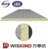 El panel superior de /Wall de la azotea del emparedado del aislamiento de calor de la venta Polyurethane/PU