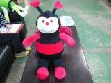 De panda draagt de Machine van het Speelgoed Suffed