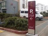 Bodenstandplatz-Denkmal-Zeichen für Plasterung