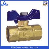 Válvula de esfera forjada para os sistemas de fonte da água (YD-1020)