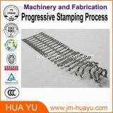 Estampado progresivo de precisión de fabricación de piezas de la motocicleta