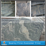 China Juparana /Sand Wave Granites para bancadas de Kitchen/Bathroom Tiles