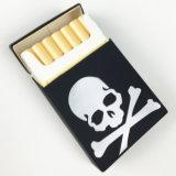Gedrucktes Firmenzeichen-rechteckiges Form Tready Silikon-Zigarettenetui imprägniern