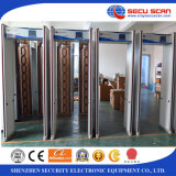 Mais populares 8/16/24 zonas Walk Through Metal Detector AT-300C porta frame / aechway detector de metais
