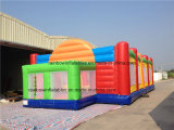 Patio inflable del baloncesto/echada inflable del baloncesto