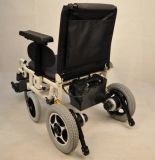 Adjutable Seat Width Electric Wheelchair per The Disable People