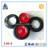 工場Inflatable Pneumatic 3.00-8 360mm Air Rubber Wheel