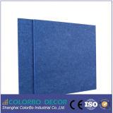 장식 재료 폴리 에스테르 섬유 벽 어쿠스틱 패널 (방음)