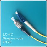 Cabo de remendo Single-Mode da fibra óptica de FC-LC Upc