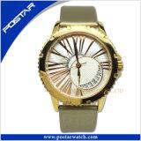 より普及した方法人のステンレス鋼の水晶腕時計