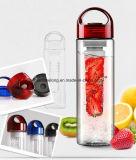 Пластичная бутылка лимона бутылки воды чашки прозрачная