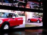 Fundición a presión de aluminio Panel P6.25mm exterior / interior LED de visualización de video de pantalla de 500x500 mm / 500X1000mm