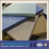 Panneaux Décoration Matériel Fibre de polyester mur acoustiques (insonorisées)