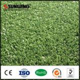 Césped artificial sintetizado verde barato Anti-ULTRAVIOLETA de la hierba de la decoración del acuario