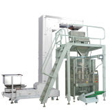Vertical automatico Packaging Machine con 4 Heads Liner Weigher