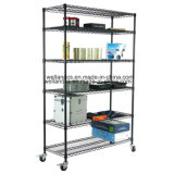 NSF Powder Coated Steel Garage Storage Wire Racking System
