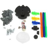 4452129-DIY Doodling Robot Kits 3 in 1 Scribbling Electric Assembling Puzzling Toy