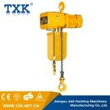 Élévateur à chaînes électrique de Txk 3ton avec simple/à deux vitesses